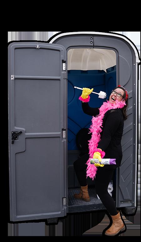 Mobiel toilet huren festivals