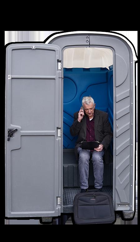 Mobiel toilet huren particulier