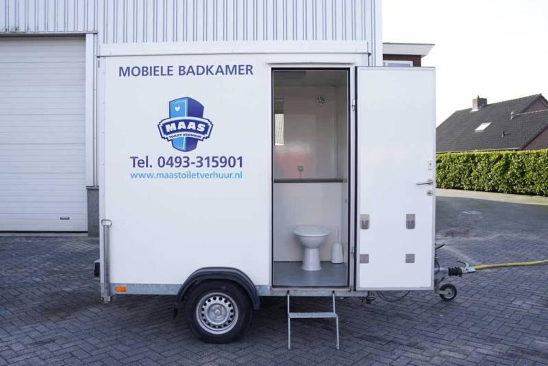 Huren mobiele badkamer Maas