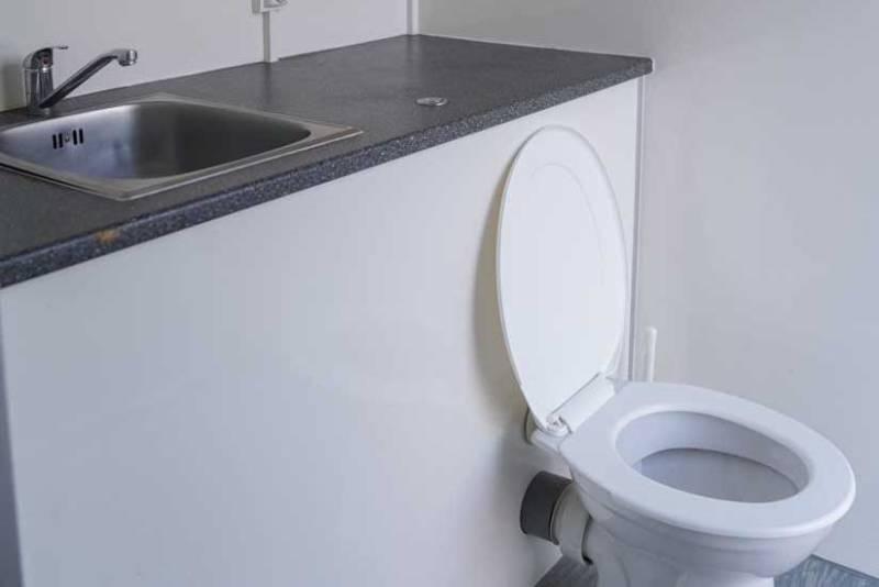 Mobiele badkamer huren online