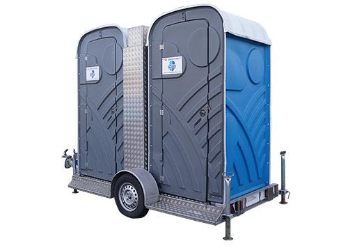 Mobiele Toiletten met aanhanger