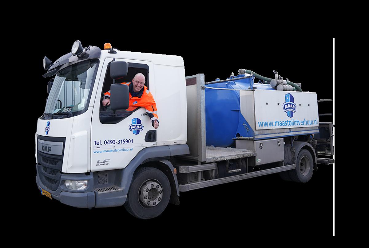 Reinigingswagen Maas Deurne