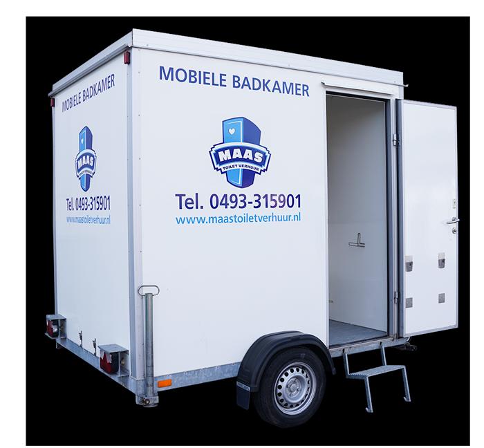 Mobiele badkamer huren voor op locatie