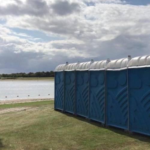 Mobiel toilet huren voor festival